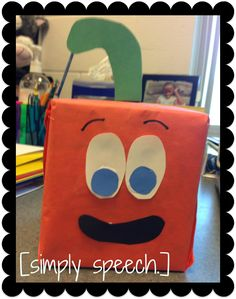 Spookley the Square Pumpkin. A story about a square pumpkin that teaches that we are all different and special. Plus, the story targets shapes, colors, comprehension, and social skills!