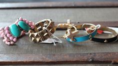 Bracelets are the ultimate addition to any outfit! Sweet or edgy, you can't go wrong!