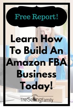 """Have you heard about selling on Amazon using the FBA program? Our family has been making six-figures on Amazon for over 5 years. Check out our Free Report """"Why Selling On Amazon FBA Works"""" and learn how to build an Amazon FBA business today!"""