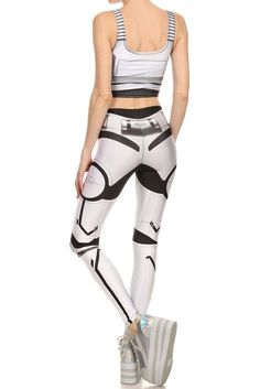 Protect your empire with the help of the perfect armor! star wars leggings, c3po leggings, storm trooper leggings, costume