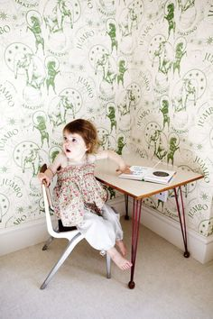 10 kids rooms with wallpaper