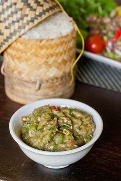 Lao Eggplant Dip – Jeow Mak Keua {Gluten-Free, Vegan}
