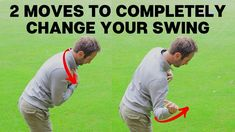 You are currently watching a video about 2 moves that will completely change your swing, this video will really help golfers understand how to start the down. Golf Training Aids, Soccer Training, Golf Clubs For Beginners, Crazy Golf, Crazy Crazy, Golf Wedges, Golf Tips Driving, Swing Trainer, Volleyball Tips