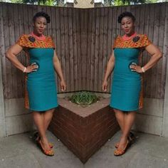 Getting modern African dress styles is a bit of a drag, so we sorted the best collection of the most fashionable African wear in the world. African Dresses For Women, African Print Dresses, African Print Fashion, Africa Fashion, African Attire, African Wear, African Fashion Dresses, African Women, African Prints