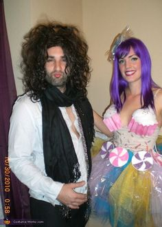 Katy Perry and Russell Brand - Homemade costumes for couples