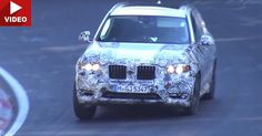 BMW's All-New 2018 X3 Begs For Mercy During Nurburgring Testing #BMW #BMW_Scoops