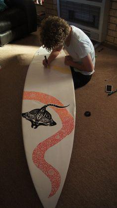 surfboard illustrations