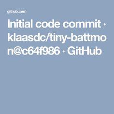 Initial code commit · klaasdc/tiny-battmon@c64f986 · GitHub
