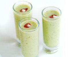 Cilantro Soup Shots