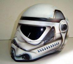 Clone Trooper Motorcycle Helmet