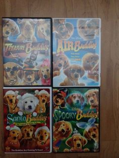 The Buddies Movie Collection, 4 Movies Halloween, Christmas, Talking Dog
