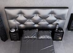 Dormitorio lacado y tapizado. Mod: FNX111