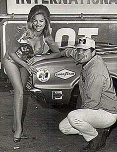 Linda Vaughn & Dick Landy