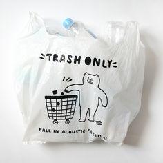 Vinyl Bag for Fall in Acoustic Festival 2014 / illustrations by Circus boy band Vintage Packaging, Packaging Design, Branding Design, Japanese Aesthetic, Aesthetic Black, Aesthetic Pastel, Doodle Paint, Kids Logo, Designer Toys