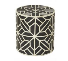 Image of Bone Inlay Stool