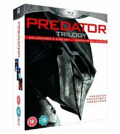 Predator Trilogy Collectors 6 Disc Set Blu-ray 1987 Region A & B: Amazon.co.uk: John McTiernan, Robert Rodriguez: Film & TV