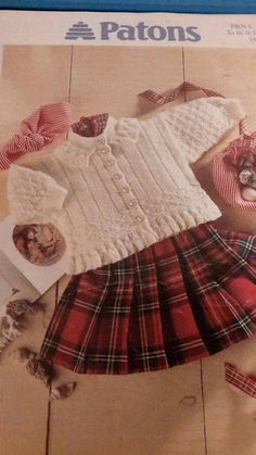This cute baby and childs knitting pattern for Aran cardigan is a beautiful knit that is always on trend, for baby girls from newborn to 3 years, a family heirloom piece. Instant download so you can get started immediately!