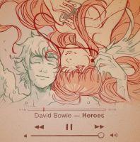 RIP David Bowie by Picolo-kun
