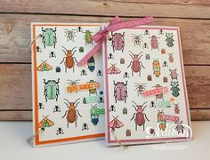 Sootywing Studios: Bug Books!, Beetles and Bugs, Stampin' Up!, Coloring books for kids