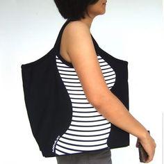 Slim Bag -- Contour Canvas Bag - neat