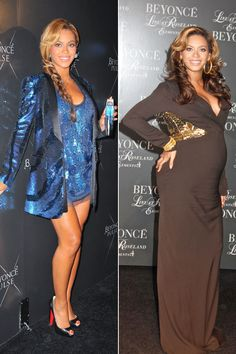 Beyonce definitely didn't let nine months of pregnancy cramp her glitzy, show-stopping style!