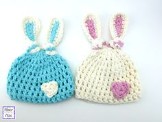 How To Crochet the Newborn Bunny Knot Hat, Episode 290