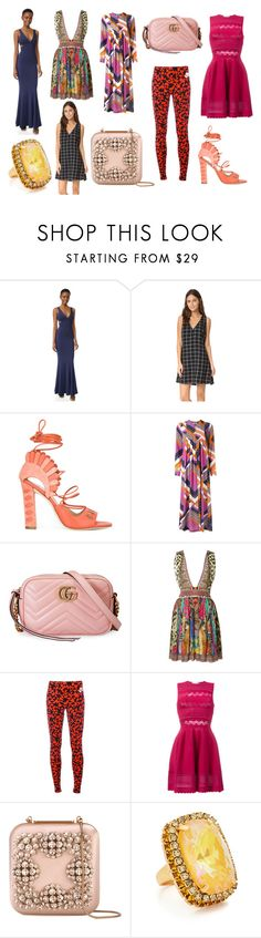 """sexy looking"" by donna-wang1 ❤ liked on Polyvore featuring Zac Posen, Paula Cademartori, Roseanna, Gucci, Camilla, NIKE, Zuhair Murad, Manolo Blahnik, Elizabeth Cole and vintage"