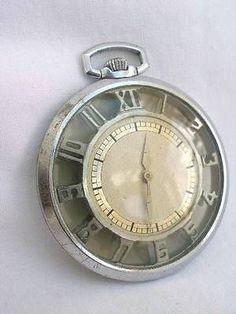 Unusual-Art-Deco-Period-Swiss-Seeland-Skeletonised-Pocket-Watch-In-Working-Order