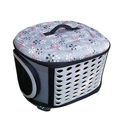 Pettom Pet Travel Carrier -- Special product just for you. Pet Travel Carrier, Cat Carrier, Dog Travel, Cat Cages, Cat Training Pads, Grey Dog, Dog Dental Care, Dog Food Storage, Dog Shower