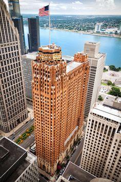 Detroit, Michigan - USA, America do Norte Detroit Area, Detroit Michigan, Detroit Skyline, Metro Detroit, Art Nouveau, Art Deco, Detroit History, Michigan Travel, Gothic