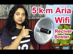 How to make Wifi Receiver Booster for 5 k.m Coverage | Wifi Signal capture - YouTube