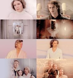 The parallels between Anakin and Leia, and Padme and Luke though...