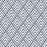 "Nu 18' x 20.5"" Arrowhead Deep Blue Wallpaper Roll"