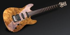 Eye-popping Framus burlwood guitar. Germany's secret rock'n roll weapon.