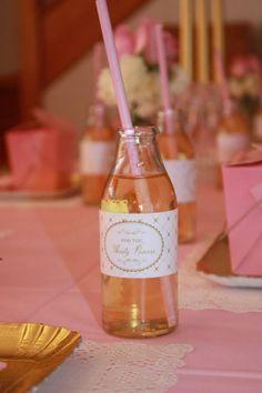 Pink and Gold Princess Party So Many Really Cute Ideas via Kara's Party Ideas KarasPartyIdeas.com #RoyalPrincess #Party #Ideas #Supplies (16)