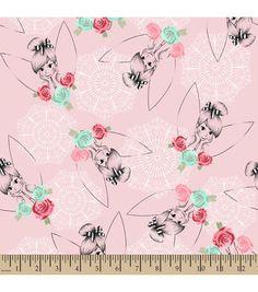 Disney Tinkerbell Lacey Fleece Fabric
