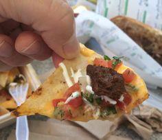 Richard Sandomir's nachos with skirt steak at Maya