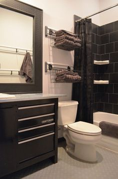 Flower Mound, TX: Greg and Holly Homer - contemporary - bathroom - Dallas - Sarah Greenman