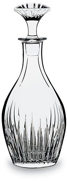 Baccarat Massena Round Whiskey Decanter - $790.00