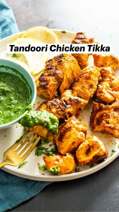 Healthy Indian Recipes, North Indian Recipes, Paleo Recipes, Ethnic Recipes, Chicken Appetizers, Chicken Skewers, Grilled Chicken, Tandoori Chicken, Masala Spice