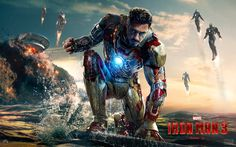 The 10 Most Successful Marvel Superhero Movies. The Marvel Studios has done a great job in bringing the superheroes like Iron Man, Captain America, Thor, Iron Man Wallpaper, K Wallpaper, Gwyneth Paltrow, Tony Stark, Iron Man 3 Poster, Spoiler Alert, Marvel Comics, Marvel Heroes, Marvel Avengers