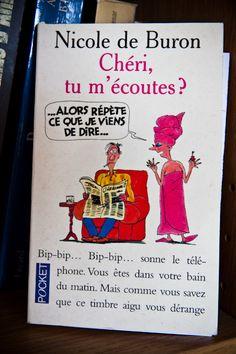 [Roman adapté en série] Chéri, tu m'écoutes?, Nicole de Buron, Pocket, n° 10568. Donnera la série Les saintes chéries.