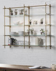 The Collector's Hanging Glass Shelves - Amuneal: Magnetic Shielding & Custom Fabrication