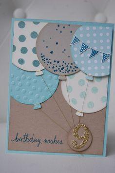 Un anniversaire en double - Marie-Claude Chollet - Photo Bday Cards, Kids Birthday Cards, Handmade Birthday Cards, Diy Birthday, Birthday Wishes, Baby Scrapbook, Scrapbook Cards, Karten Diy, Card Making Inspiration