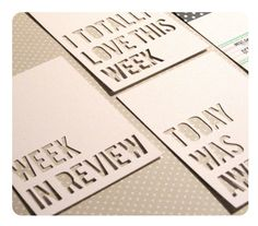 Design 1 - Project Life 4x3 Insert Journaling Cards - Also Great for Scrapbooking by andiesink on Etsy https://www.etsy.com/listing/120105011/design-1-project-life-4x3-insert