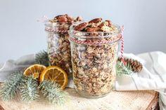 Winterliches Spekulatius-Granola - ohne raffinierten Zucker, vegan, glutenfrei - de.heavenlynnhealthy.com