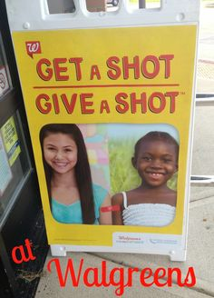 Let Walgreens be your Back to School stop for supplies and immunizations! Get a Shot and #GiveaShot to a child in need! #shop
