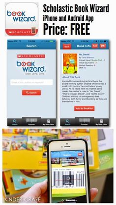 FREE app from Scholastic to level your classroom library books