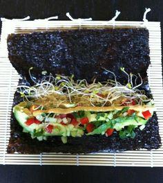 avocado nori wraps