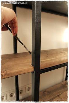 Hyllis Ikea Hack – DIY… – Skreytumhús.is